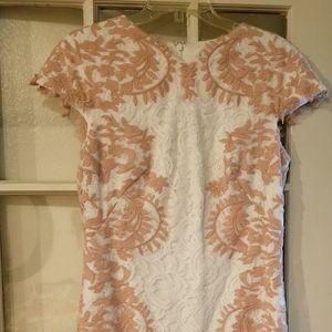 Tadashi Shoji beautiful lace dress.
